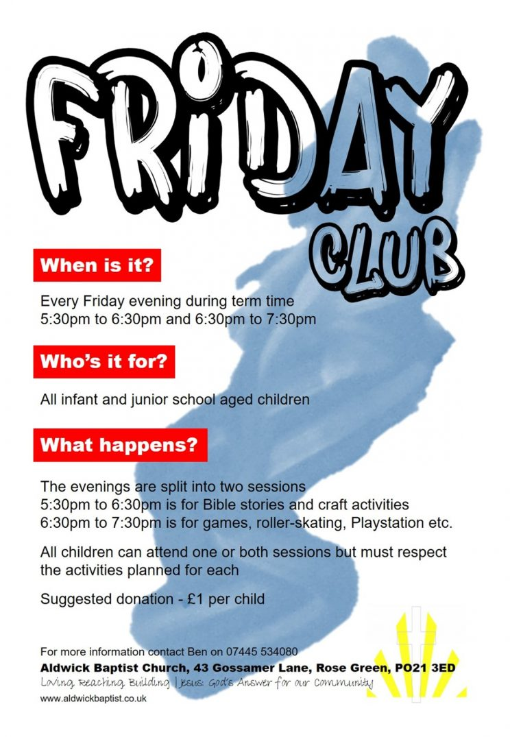 Friday Club Sept 16