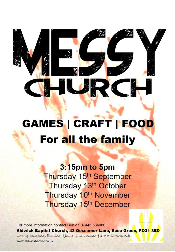 Messy Church Sept 16