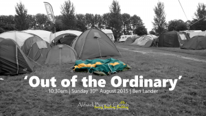Out of the Ordinary  (August 2015)