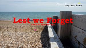 Lest we Forget  (November 2015)