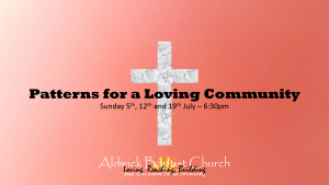 Patterns for a Loving Community  (July 2015)